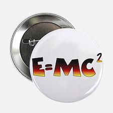 """E=MC2 Relativity 2.25"""" Button"""