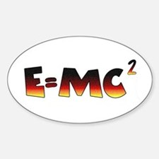 E=MC2 Relativity Decal