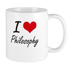I Love Philosophy Mugs