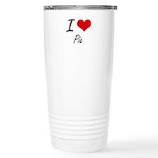 I Love Pie Travel Mug