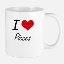 I Love Pieces Mugs