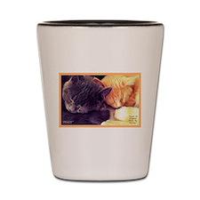 Cats-Kittens-Sleeping.jpg Shot Glass