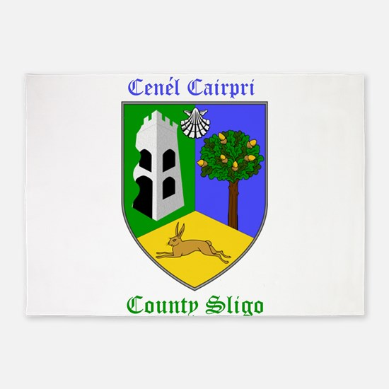 Cenel Cairpri - County Sligo 5'x7'Area Rug