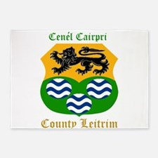 Cenel Cairpri - County Leitrim 5'x7'Area Rug