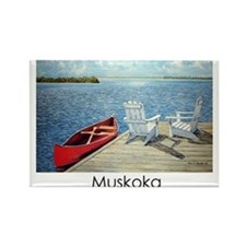 Cute Muskoka Rectangle Magnet