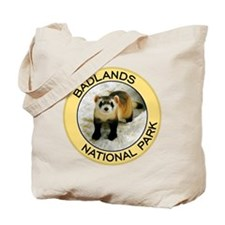 Badlands NP (Black-Footed Ferret) Tote Bag