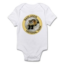 Badlands NP (Black-Footed Ferret) Infant Bodysuit
