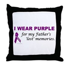 My Father's Lost Memories Throw Pillow