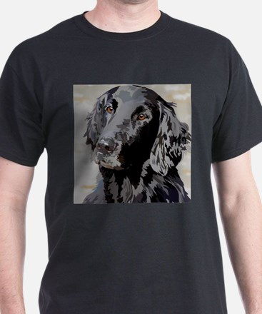 Cute Flat coated retriever T-Shirt