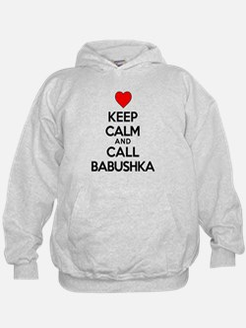 Keep Calm Call Babushka Hoodie