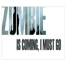 Zombie Apocalypse Survivor Poster
