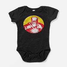 Unique Welder Baby Bodysuit