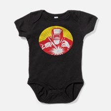 Funny Welding Baby Bodysuit