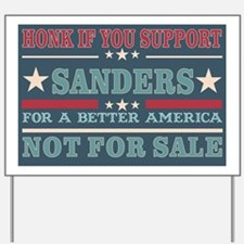 Wow SANDERS Yard Sign