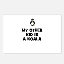 my other kid is a koala Postcards (Package of 8)