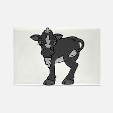 Black and grey calf Magnets