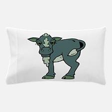 greenish grey calf Pillow Case