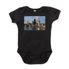 Cute Into the eyes of love Baby Bodysuit
