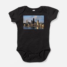 Cool Skyscrapers Baby Bodysuit