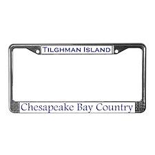 Tilghman Island, Chesapeake BayLicense Plate Frame