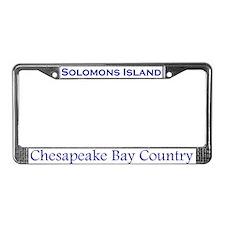 Solomons Island License Plate Frame