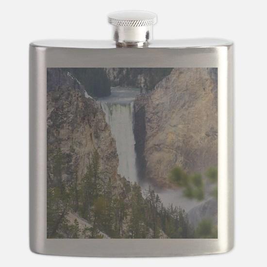 YELLOWSTONE WATERFALL Flask