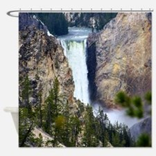 YELLOWSTONE WATERFALL Shower Curtain