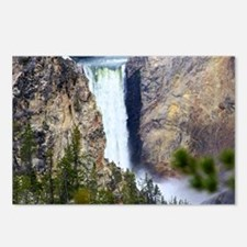 YELLOWSTONE WATERFALL Postcards (Package of 8)
