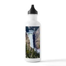 YELLOWSTONE WATERFALL Water Bottle