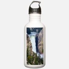 YELLOWSTONE WATERFALL Water Bottle