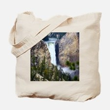 YELLOWSTONE WATERFALL Tote Bag