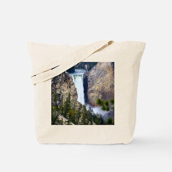 YELLOWSTONE WATERFALL Tote Bag