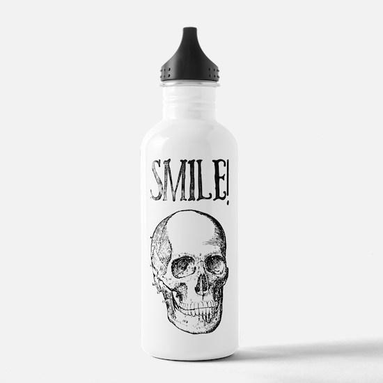 Smile! Skull smiling Water Bottle