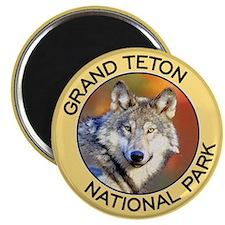 Grand Teton NP (Wolf) Magnet