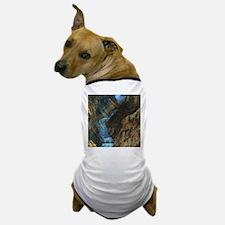 YELLOWSTONE LOWER FALLS Dog T-Shirt
