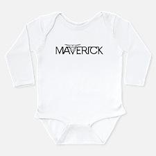 Cool Muscle girl Long Sleeve Infant Bodysuit