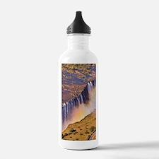 WATERFALL AFRICA ZAMBI Water Bottle