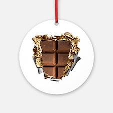 Chocolate Bar Sixpack Round Ornament