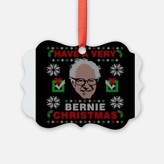 very bernie sanders ugly christma Ornament
