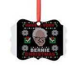 Bernie sanders Picture Frame Ornaments