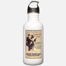 WWI US Navy Gee Girl Water Bottle