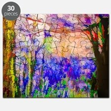 Nature In Stained Glass Puzzle