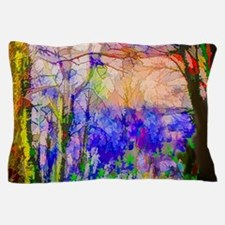 Nature In Stained Glass Pillow Case