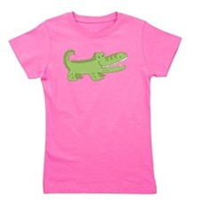 Funny A is for alligator Girl's Tee
