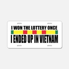 Draft Lottery Aluminum License Plate