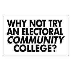 Electoral Community College Decal