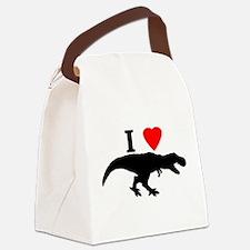 I love T rex Canvas Lunch Bag