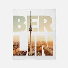 BERLIN CITY – Typo Throw Blanket