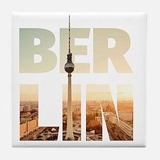 BERLIN CITY – Typo Tile Coaster