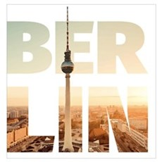 BERLIN CITY – Typo Poster